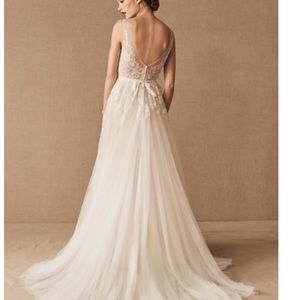 BHLDN REAGAN WEDDING DRESS SIZE 2